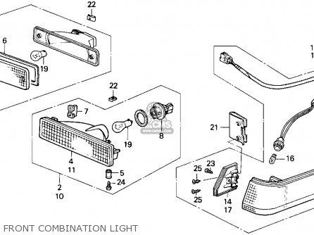 89 Honda Accord Fuse Box