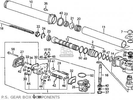 Honda Accord 1988 J 3dr Dx Kakl Parts Lists And Schematics