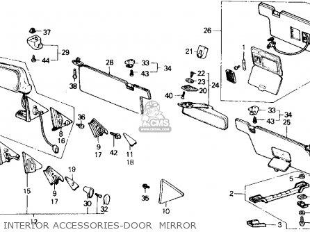 2000 Honda Crv Fuse Panel