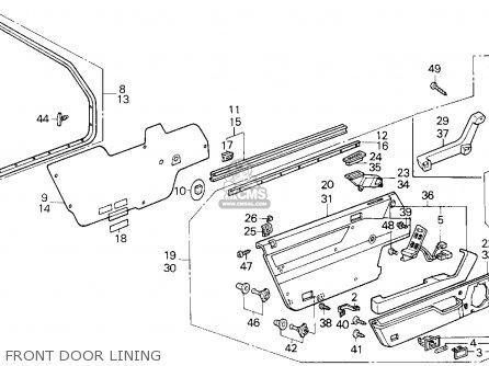 87 Honda Accord Wiring Diagram