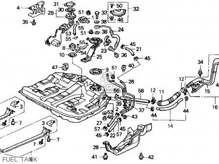 Honda Accord 1990 L 2dr Ex Ka Kl Parts List