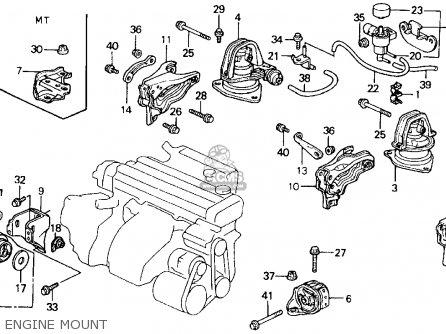 Honda Accord 1990 L 2dr Lx Ka Kl Parts Lists And Schematics
