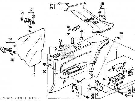 90 Honda Accord Ex Engine Diagram