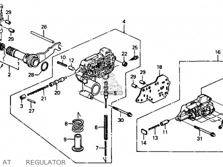1990 Honda Accord Part Diagram