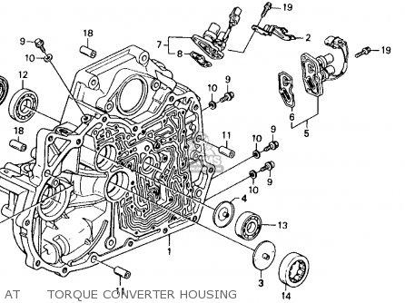 Honda Accord 1991 M 2dr Ex Ka Kl Parts Lists And Schematics