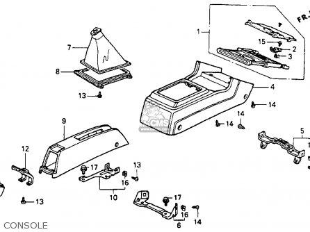 Honda Accord 1991 M 4dr Ex Kakl Parts Lists And Schematics