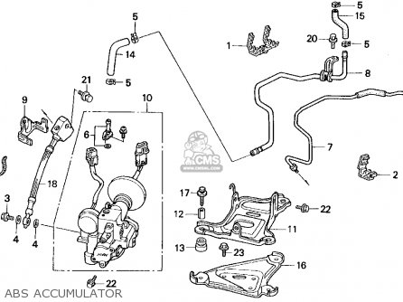 Honda Accord Clutch Master Cylinder Parts Diagram on stereo wiring diagram honda accord 1992