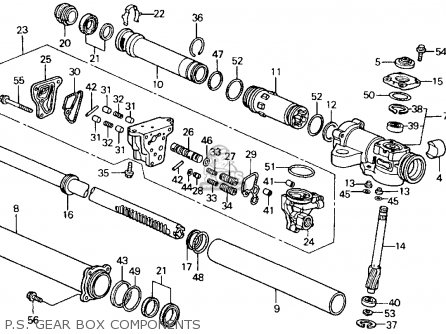 1992 Honda Prelude Fuse Box Diagram