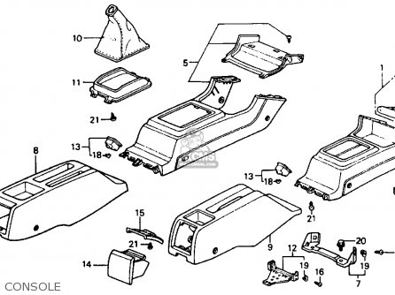 Honda Accord 1992 N 4dr Dx Kakl Parts Lists And Schematics