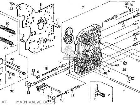 honda accord 1993 p 2dr ex ka kl atmain valve body_medium00027170ATM08_983e diagram furthermore 1993 honda accord fuel relay further honda