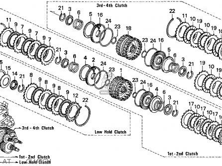 Honda Accord 1995 S 2dr Ex Kakl Parts Lists And Schematics