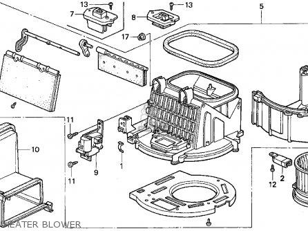 Blower Heater Wiring