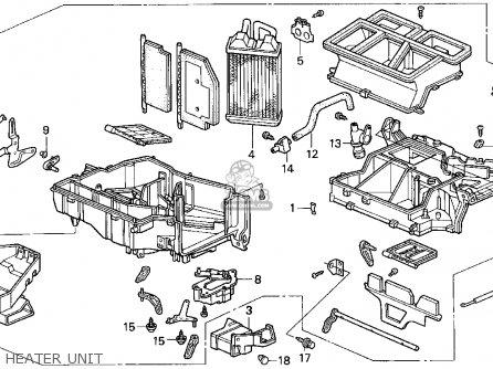 Honda Accord 1995 S 2dr Ex Ka Kl Parts Lists And Schematics