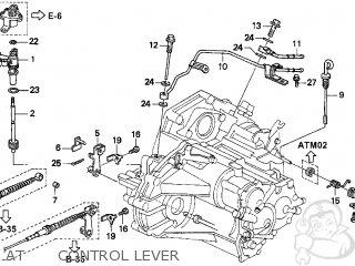 Honda Accord 1997 V 2dr Ex Ka Parts Lists And Schematics