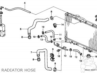 86 Honda Accord Thermostat Location