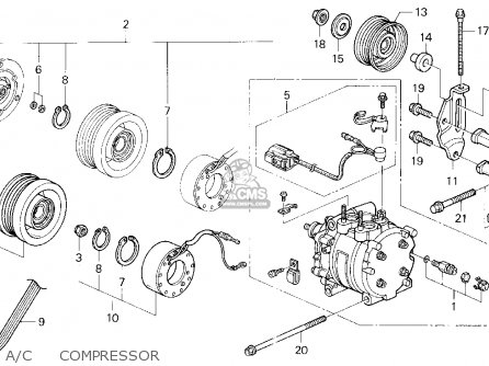 2009 Nissan Altima Qr25de Engine  partment Diagram together with Honda Nsr Wiring Diagram moreover Dodge Ram Headlight Wiring Harness furthermore Page ments 2005 Acura Custom furthermore RepairGuideContent. on 1995 honda accord electrical schematics