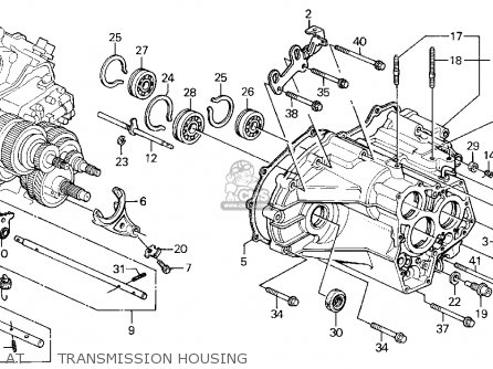 Honda Accord Wagon 1991 M Wgn Ex Kakl Parts Lists And Schematics