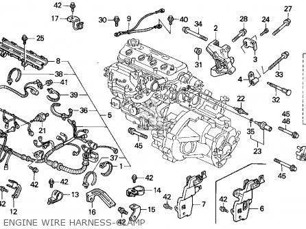 1991 honda accord engine wiring harness 2000 honda accord engine wiring harness