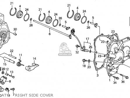 Honda Accord Wagon 1992 N Wgn Ex Kakl Parts Lists And Schematics