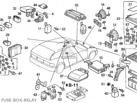 honda accord wagon 1993  p  wgn ex  ka kl  parts list