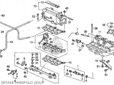how to clean 2003 hinda accord intake manifold