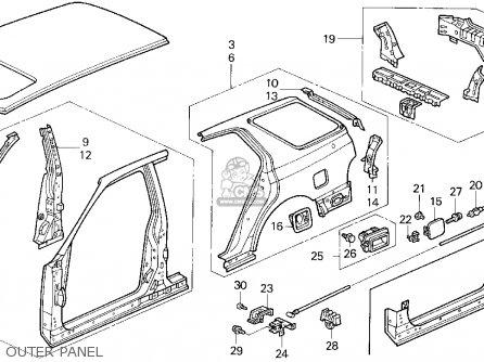 honda srs light honda exhaust wiring diagram odicis. Black Bedroom Furniture Sets. Home Design Ideas