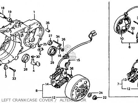 Honda Atc 200 Carb Diagram on 1985 Honda 250sx Parts
