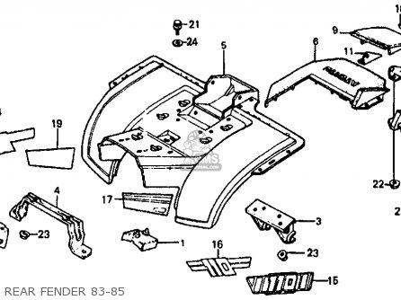 honda atc110 1985 f usa parts list partsmanual partsfiche. Black Bedroom Furniture Sets. Home Design Ideas