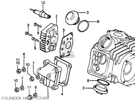 Honda Atc 110 Engine