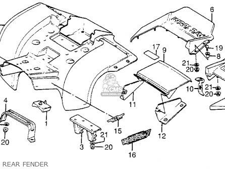 1985 Trx 125 Wiring Diagram