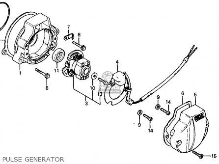 Honda Atc185s 1983 d Usa Pulse Generator