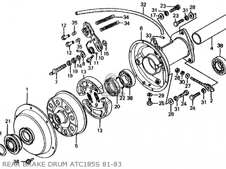 Wiring Diagram For 1986 Honda Atc 250sx