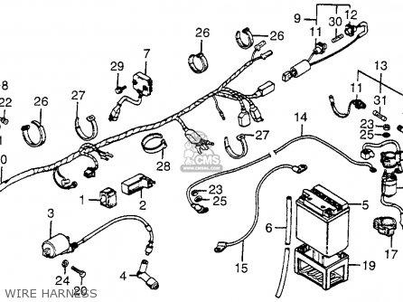 Honda 200e Wiring Diagram