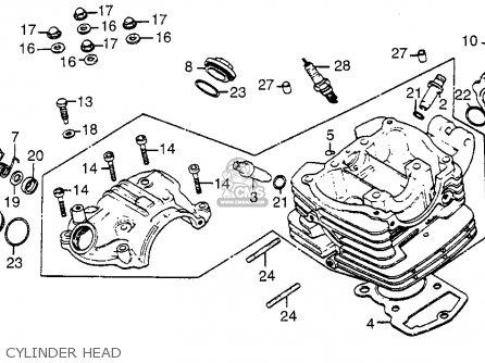 Wiring Diagram 1983 Honda Atc 185 moreover Partslist also Wiring Diagram Honda Xl600r further 2000 Suzuki 250 Quadrunner Wiring Diagram as well Ford 390 2 Barrel Carburetor Spacer. on wiring diagram honda big red