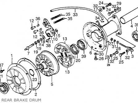 honda atc200e 1983 (d) big red usa parts lists and schematics 84 honda big red wiring diagram honda atc200e 1983 (d) big red usa rear brake drum