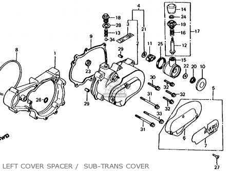 Honda Big Red 250 Wiring Diagram