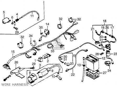 Honda Atc200m 1985 F Usa Parts Lists And Schematics