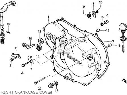 Honda Atc200x 1987 H Usa Parts Lists And Schematics