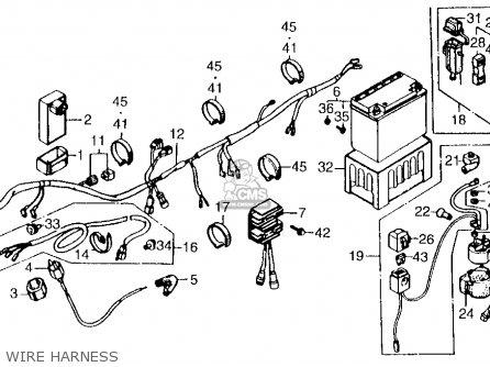 1985 Honda Trx 250 Wiring Diagram moreover Wiring Diagram For Honda 350x besides Wiring Diagram For 87 Trx 250 moreover Honda Recon 250 Atv Wiring Diagram also Wiring Diagram For 1984 Honda Atc 200 Es. on 1987 honda recon 250 wiring