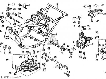 honda recon 250 alternator diagram