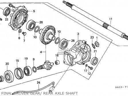 honda atc250es big red 1987 (h) australia parts list ... wiring diagram 1986 honda big red honda big red 250 wiring diagram #10