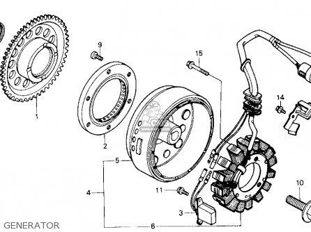 Honda ATC250SX 1985 (F) USA parts lists and schematics