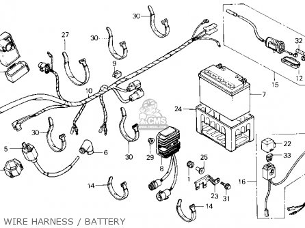1985 honda atc 70 wiring diagram kawasaki four wheeler