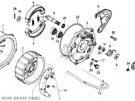 Partslist as well Partslist further  on honda 250sx rear axle diagram