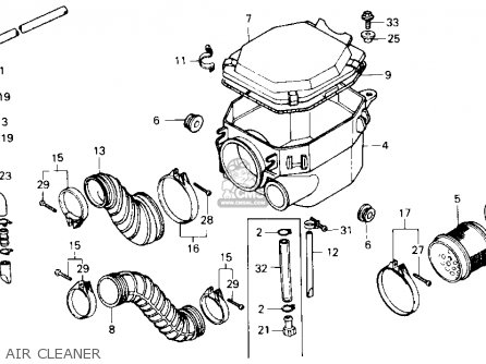Honda Elite 80 Carburetor Diagram