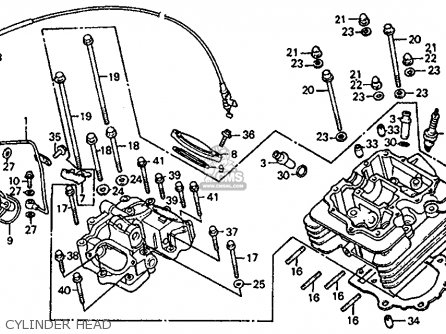 Honda Atc350x 1985 F Usa Parts Lists And Schematics
