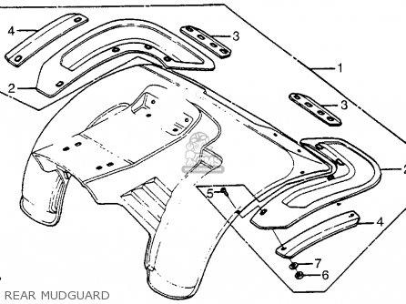honda atc70 1981  b  usa parts list partsmanual partsfiche