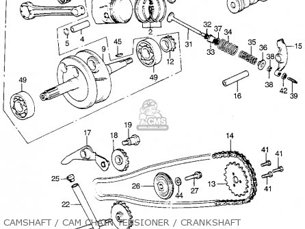 honda atc 70 clutch diagram