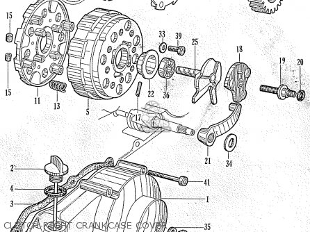 Honda C100 GENERAL EXPORT parts lists and schematics on
