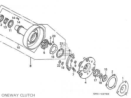 Honda C100m2 Astrea Indonesia parts list partsmanual partsfiche